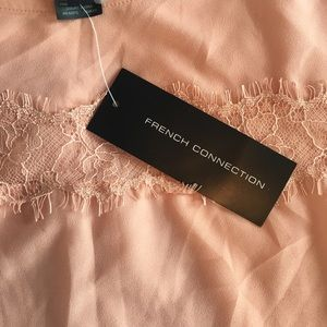 French Connection Tops - French Connection Pink lace top